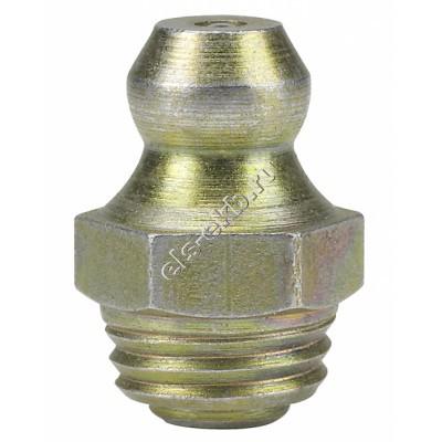 Пресс-масленка коническая прямая H1, оцинкованная закаленная сталь PRESSOL F8x1 SFG, VZ, SK, SW 9, арт. 15072