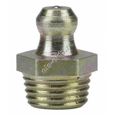 Пресс-масленка коническая прямая H1, оцинкованная закаленная сталь PRESSOL F10x1 SFG, VZ, SK, SW 11, арт. 15073