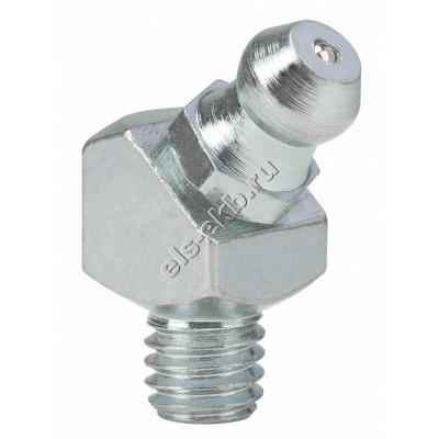 Пресс-масленка коническая угловая 45° H2, оцинкованная закаленная сталь PRESSOL М6x1 VZ, VK, SW 9, арт. 15107