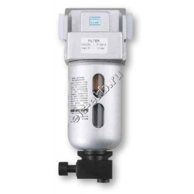 """Фильтр-водоотделитель воздушный GROZ F15633-S Standard, арт. 60104 (Qmax=3500 л/мин; 40 мкм; 1/2"""" BSP)"""