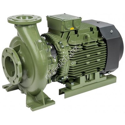 Насос центробежный SAER IR 40-160NB/A, арт. 100543955 (Qmax=50 м³/час; Hmax=36 м; 380В; 5,5 кВт)