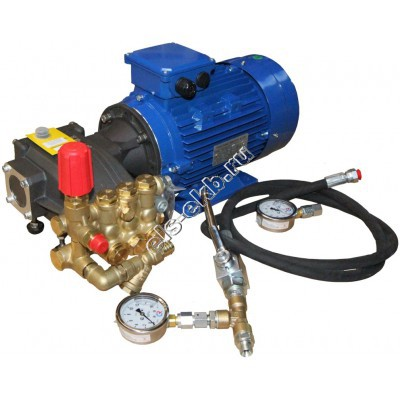Насос опрессовочный электрический АМПИКА EHA 8,5-120 (Pmax=120 атм; Qmax=8,5 л/мин; 220В)