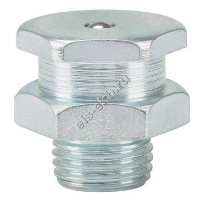 Пресс-масленка плоская T1/B-KØ 16mm, оцинкованная закаленная сталь PRESSOL М10x1 VZ, SK, SW 15, SKK, арт. 55813