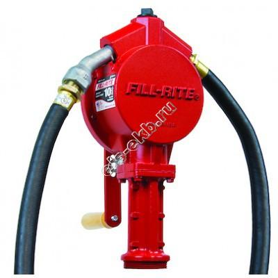 Насос бочковой ручной FILL-RITE FR112 (Qmax=0,38 л/цикл, с подающим рукавом)