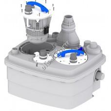 Канализационная станция SFA SANICUBIC 2 PRO NM (Qmax=20,4 м³/час, Hmax=11 м, 220В, 2х1,5 кВт)