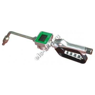 """Пистолет со счетчиком для масла ручной АМПИКА JYQ/M-1 (1/2"""" BSP, 35 л/мин, с поворотной муфтой)"""