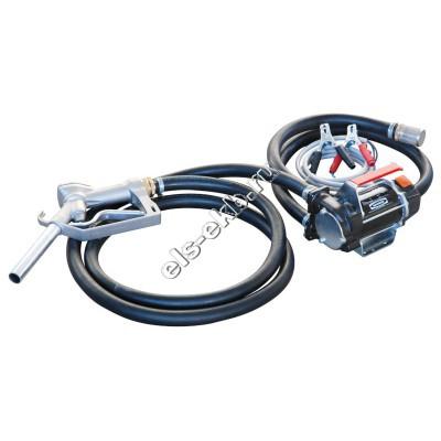 Комплект переносной для дизельного топлива электрический PIUSI BATTERY KIT 3000 12V, арт. F0022500C (Qmax=50 л/мин; 12В)