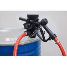 Комплект бочковой для дизельного топлива электрический+ручной PIUSI PICO 12 M, арт. F00202040 (Qmax=30 л/мин, 12В)