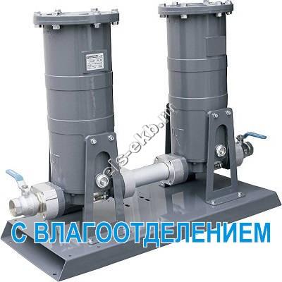 """Установка фильтрации для бензина, керосина, дизельного и авиационного топлива GESPASA FG-300x2 Fixed Filtering Kit • 50/15 µm • 2"""", арт. 66062 (Qmax=300 л/мин; 50/15 мкм; 2"""" BSP)"""