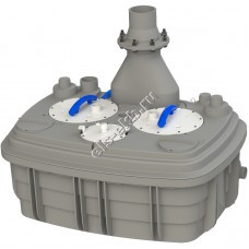 Канализационная станция SFA SANICUBIC2 XL THREE PHASES (Qmax=52,8 м³/час, Hmax=16 м, 380В, 2х3,5 кВт)