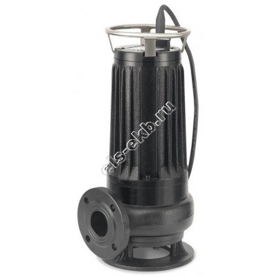 Насос фекальный погружной АМПИКА ЦМФ 15-9 РМ_380В с измельчителем (Qmax=25 м³/час; Hmax=11 м; 380В; 1,1 кВт)
