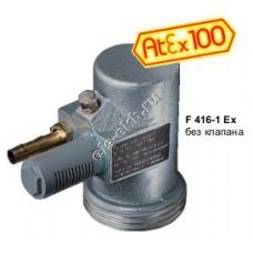 Двигатель пневматический FLUX F416-1Ex, арт. 10-41600020 (170 - 470 Вт; II 2 G c IIC T6)