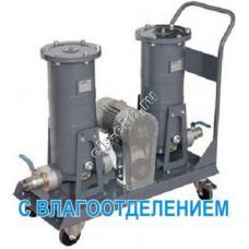 """Установка фильтрации для бензина, керосина, дизельного и авиационного топлива GESPASA FG-300x2 Mobile Filtering Kit + BAG-800 1 kW 230/400 VAC EExd Pump • 50/15 µm, арт. 66152 (Qmax=150 л/мин; 50/15 мкм; 2"""" BSP)"""