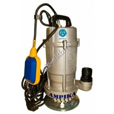 Насос дренажный погружной ГНОМ10-16_220В с поплавком (Qmax=18 м³/час; Hmax=19 м; 220В; 0,75 кВт; кабель 10 метров с вилкой)