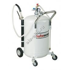 Маслонагнетатель пневматический LUBEWORKS, арт. POD065 (с баком 65 л, передвижной)