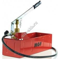 Насос опрессовочный ручной MGF Компакт-120, арт. 904600 (Pmax=120 атм; Qmax=11 cм³/цикл; с баком 12 л)