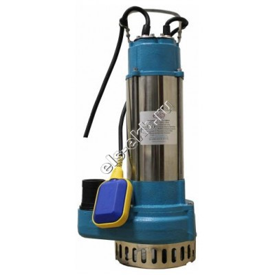Насос дренажный погружной АМПИКА VM-1500AF с поплавком (Qmax=15 м³/час; Hmax=22 м; 220В; 1,5 кВт; кабель 5 метров с вилкой)