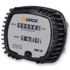 Счетчик механический GROZ OM-10/1-2/BSP, арт. 45790 (1-30 л/мин, масло, дизель, биодизель)