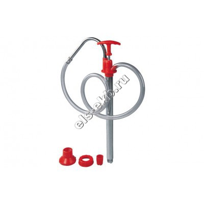 Насос для канистр ручной GROZ EZF/2, арт. 44171 (Qmax=0,1 л/цикл; с подающим рукавом)