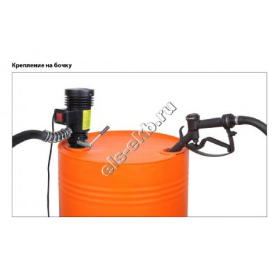 Комплект бочковой для дизельного топлива электрический GROZ EOP/DC/24, арт. 45523 (Qmax=35 л/мин; 24В)