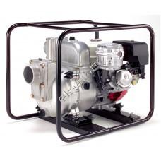 Мотопомпа бензиновая для сильнозагрязненной воды KOSHIN KTH-100X o/s (Qmax=96 м³/час, Hmax=25 м, DN 100, двигатель: Honda GX340, с датчиком уровня масла)