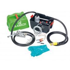 Комплект переносной для дизельного топлива электрический PIUSI PIUSIBOX 12V BASIC, арт. F0023100А (Qmax=45 л/мин, 12В, с кейсом)