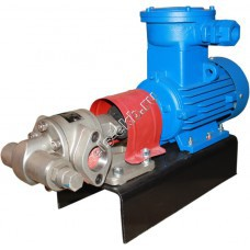 Шестеренный насос АМПИКА НШ-8,0/3,3 (Qmax=8 м³/час; Pmax=3,3 атм; 3 кВт; 380В)