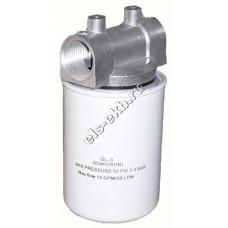 """Фильтр патронный для бензина и дизельного топлива АМПИКА GL (Qmax=100 л/мин; 30 мкм; 1"""" BSP)"""