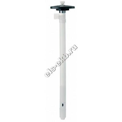 Насос бочковой без привода LUTZ PVDF 41-L-DL, HC, 1200 мм, арт. 0122-206 (Qmax=116 л/мин; Hmax=36 м)
