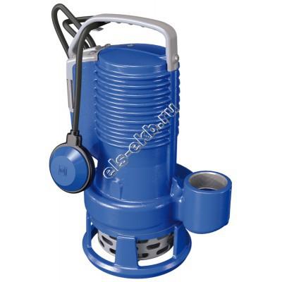 Насос дренажный погружной ZENIT DR BluePRO 150/2/G50V A1CM/50 с поплавком (Qmax=36 м³/час, Hmax=14,4 м, 220В, 1,1 кВт, кабель 5 метров с вилкой)