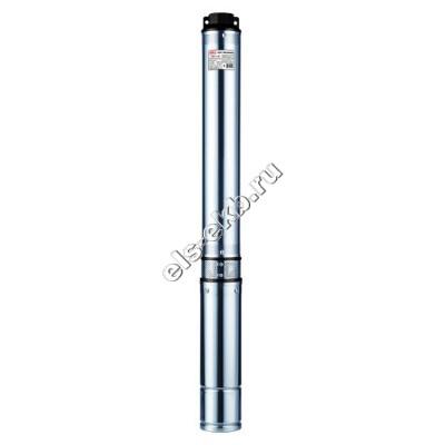 """Насос скважинный 3,5"""" многоступенчатый JEMIX CH 3,5-2-100 (Qmax=4,5 м³/час; Hmax=120 м; 220В; 1,1 кВт; кабель 2 метра)"""