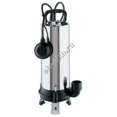 Насос фекальный погружной ESPA VIGICOR 150M A с измельчителем и поплавком (Qmax=8,6 м³/час; Hmax=19,8 м; 220В; 0,9 кВт; кабель 10 м с вилкой)