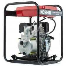 Мотопомпа дизельная KOSHIN STY-50D (Qmax=37,8 м³/час; Hmax=30 м; DN 50; двигатель: Yanmar L48N6)