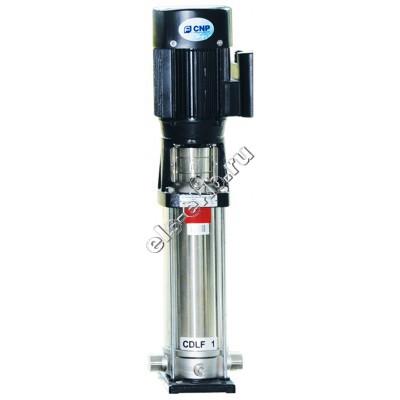 Насос многоступенчатый CNP CDLF1-15, арт. CDLF1-15LSWSC (Qmax=2 м³/час; Hmax=89 м; 380В; 0,75 кВт; нерж., t≤70°C)