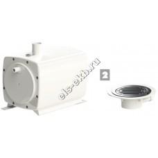 Насос санитарный для душа SFA SANIFLOOR 2 (Qmax=30 л/мин, Hmax=3 м)