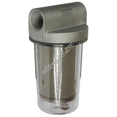 """Фильтр с колбой для дизельного топлива PETROLL GL-5 (Qmax=80 л/мин; 30 мкм; 1"""" BSP)"""