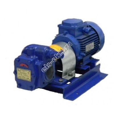 Насос шестеренный ЭЛС НМШ 5-25-4,0/10 с 4,0 кВт (ВЗИ) (Qmax=4 м³/час; Pmax=10 атм; 4,0 кВт; 380В)