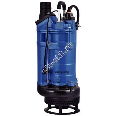 Насос песковый SOLIDPUMP 50TBDE1,5 с рубашкой охлаждения, агитатором и интеллектуальной системой управления (Qmax=30 м³/час; Hmax=20 м; 380В; 1,5 кВт)