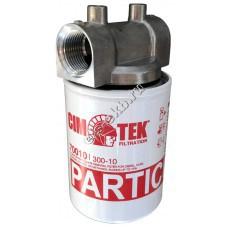 "Фильтр патронный для топлива CIM-TEK 300-10, арт. 70010-1""-12UNF (Qmax=80 л/мин; 10 мкм)"