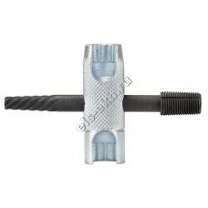 """Инструмент для замены пресс-масленок H1, H2, H3, K1, K2, K3 PRESSOL, арт. 16102 (под ключ 10 и 11 мм, метчик 1/4"""" NF (SAE))"""