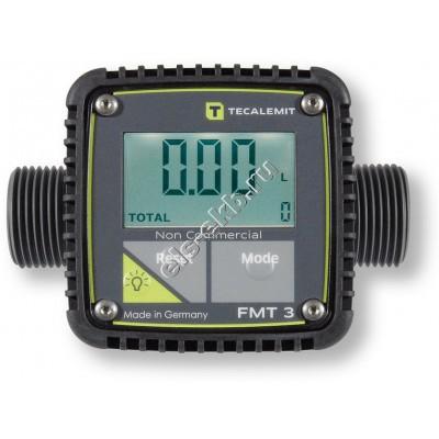 Счетчик электронный HORN FMT 3, арт. 253591006 (5-120 л/мин, дизель, мазут, вода, антифриз, AdBlue)