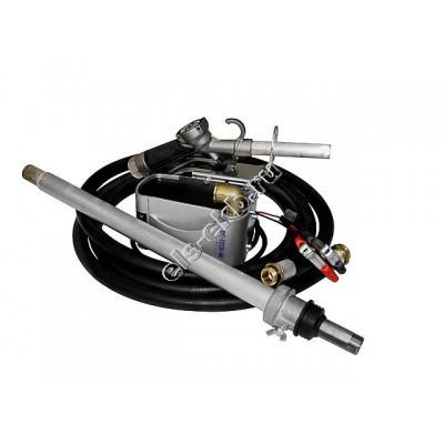 Комплект бочковой для дизельного топлива электрический ADAM PUMPS DRUM TECH 12-40 (Qmax=40 л/мин; 12В)