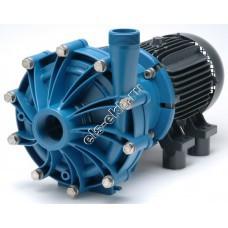 Насос центробежный с магнитной муфтой FINISH THOMPSON DB-22P с э/д 7,5 кВт (полипропилен (PP); Qmax=40 м³/час; Hmax=43 м; 380В; 7,5 кВт)