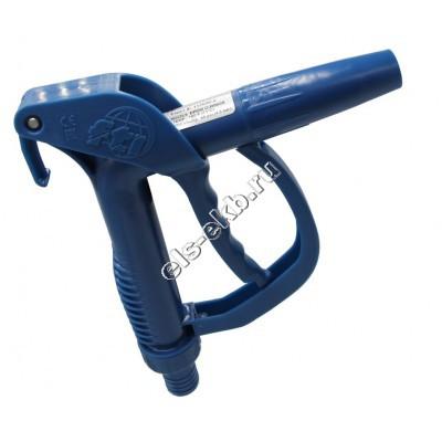 Пистолет химический ручной FINISH THOMPSON из полипропилена, арт. 111030-2 (Штуцер под шланг Ø 25 мм; 50 л/мин; уплотнение EPDM)