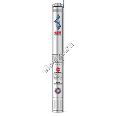 """Насос скважинный 4"""" многоступенчатый PEDROLLO 4SR 15/11-N-PD (Qmax=21,0 м³/час; Hmax=55 м; 380В; 2,2 кВт; кабель 1,7 метра)"""