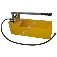 Насос опрессовочный ручной САТУРН НИР-60 (Pmax=60 атм; Qmax=40 cм³/цикл; с баком 12 л)