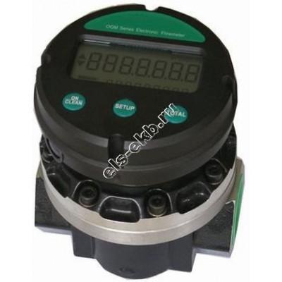 Счетчик электронный АМПИКА OGM-40E (25-250 л/мин, дизель, керосин, масла)