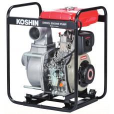 Мотопомпа дизельная KOSHIN STY-100D (Qmax=75 м³/час; Hmax=28 м; DN 100; двигатель: Yanmar L70N6)