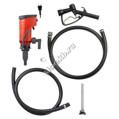 Комплект бочковой для дизельного топлива электрический+ручной PRESSOL PREMAxx, арт. 23731 (Qmax=52 л/мин; 220В)