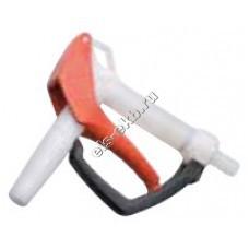 Пистолет химический ручной FLUX из фторопласта, арт. 10-00112505 (Штуцер под шланг Ø 25 мм; 80 л/мин; уплотнение FKM)